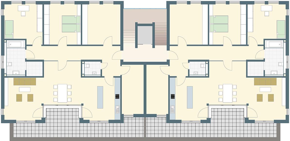 Wohnung kaufen Erdgeschoss Recklinghausen
